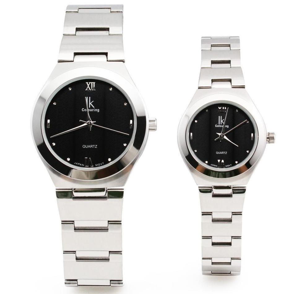 Ik для старинные кварцевые часы любителей таблице круг женские часы коммерческих мужские часы 98030 г