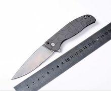Alta calidad Shirogorov cuchillo táctico plegable cuchillos de la supervivencia herramienta que acampa herramientas EDC todo el acero del cuchillo envío gratis