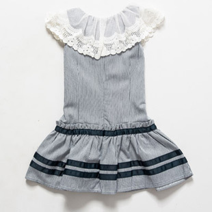 Free Shipping 2015 New Style Girls Fashion Dresses for Children Summer Dress A2488(China (Mainland))