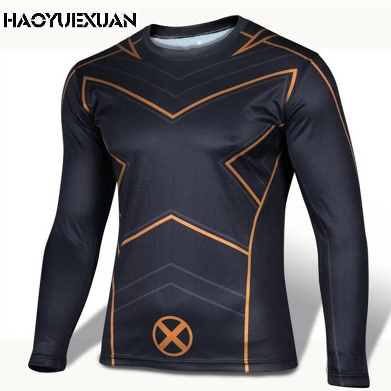 2016 Marvel comics super hero spiderman, batman superhero captain America iron man suit shirt long sleeve clothes(China (Mainland))