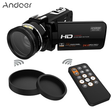 "Andoer HDV-Z20 Portable 1080P Full HD Digital Video Camera WiFi 24 MP 16x Professional Camcorder 3.0"" Rotatable LCD Touchscreen(China (Mainland))"