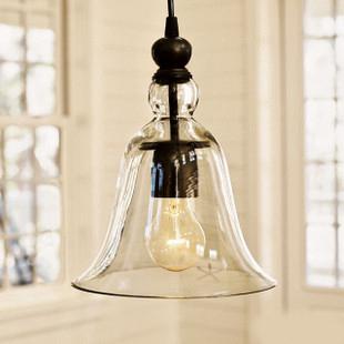 American scandinavian style Single glass pendant light brief modern pendant light