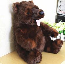 Original Rare Anime Brother Bear Kenai Big Bear Animal Plush Toy Doll Birthday Gift Children Gift Home Limited Collection