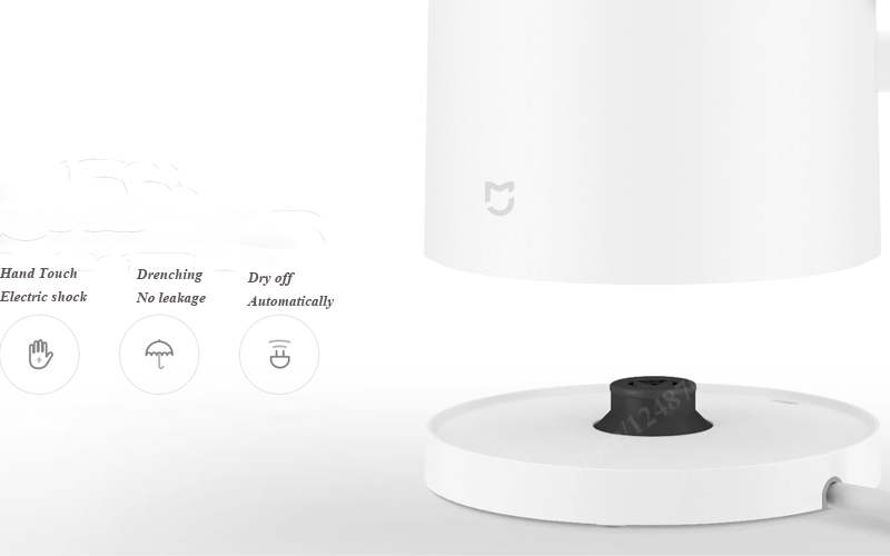 Original Xiaomi Mijia Kettle Constant Temperature Wireless Control Xiaomi Water Kettle 1.5L Thermostat APP For IOS Android