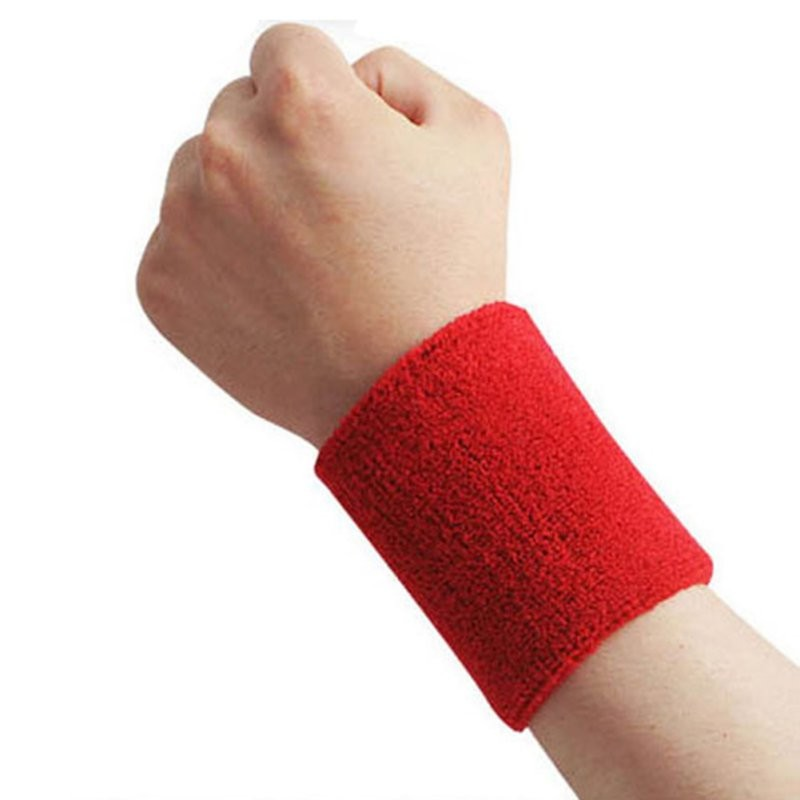 Outdoor Useful New Sweatbands Wrist Sweat Band Sports/Yoga/Workout/Running  Wristband 43BP