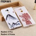 Redmi 4 pro cover Xiaomi Redmi 4 pro case prime MOFi Redmi 4 prime case cartoon