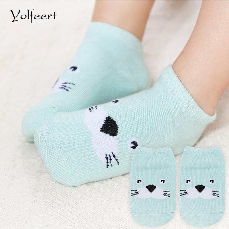 YOLFEERT Cotton Newborn Baby Socks for Summer Spring Floor Children's Socks for Newborns calcetines bebe Ankle Sock sale(China (Mainland))