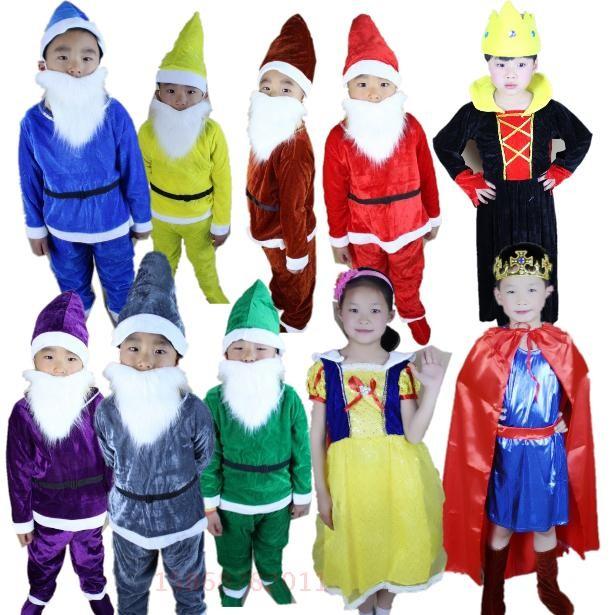 online kaufen gro handel seven dwarfs costumes for kids aus china seven dwarfs costumes for kids. Black Bedroom Furniture Sets. Home Design Ideas