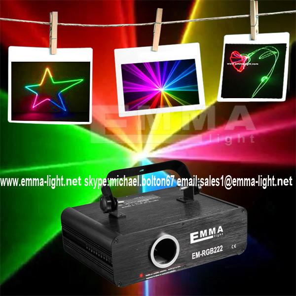 ILDA+SD+2D+3D Mutil-Functional 500mW RGB laser show system/dj equipment/laser light/stage light/holiday laser light/laser dj(China (Mainland))