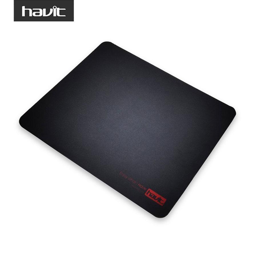 "HAVIT Computer Gaming Mouse Pad Black Rubber Waterproof surface Gamer Mousepad Muismat for Gamer 10.2"" X 7.9"" HV-MP813(China (Mainland))"