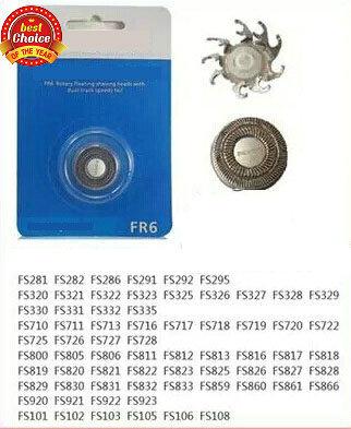 Free Shipping razor blade FR6 rotary floating shaving heads with dual-track speedy foil FR6 FS330 FS820 FS812 FS829 FS325 FS920<br><br>Aliexpress