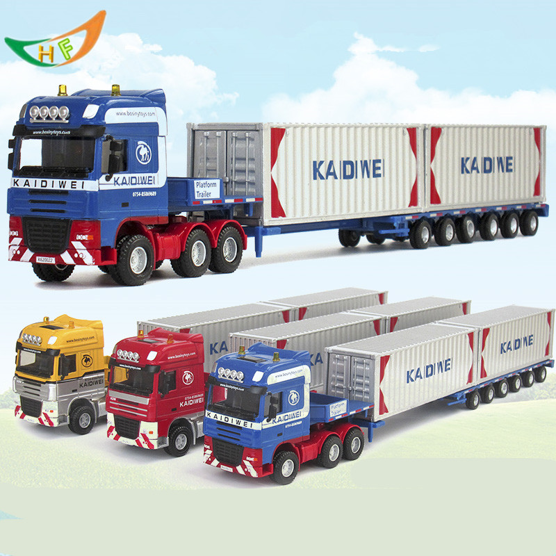 Alloy engineering car models toy car mining machine dump-car mixer truck car model<br><br>Aliexpress