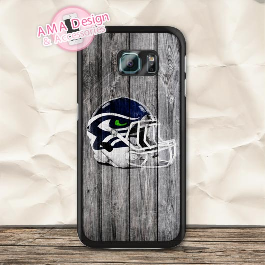 Helmet Seattle Seahawks On Wood Case For Galaxy S7 S6 Edge Plus S5 S4 active S3 mini Note 5 4 A7 A5 A3 Core Prime Ace 3 Win(China (Mainland))