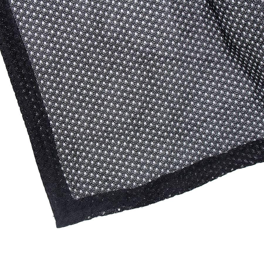 Car-Styling 2Pcs Car Sun Shade Side Window Curtain Sunshade UV Protection Mesh Fabric Black Adjustable Mesh Interlock Wholesale