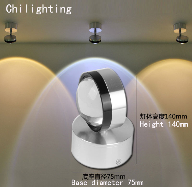 Base bedside lamp Led wall foyer universal joint sconce lamp AC90-260V museum &amp; exhibition decoration lighting<br><br>Aliexpress