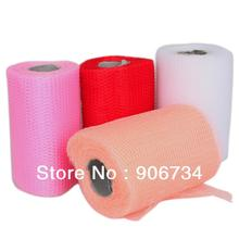 """Low Price 4PCS/Set Wedding Decorations Tulle Roll Spool 6""""x100yd Tutu Wedding Gift Craft Party on Discount Free Shipping(China (Mainland))"""