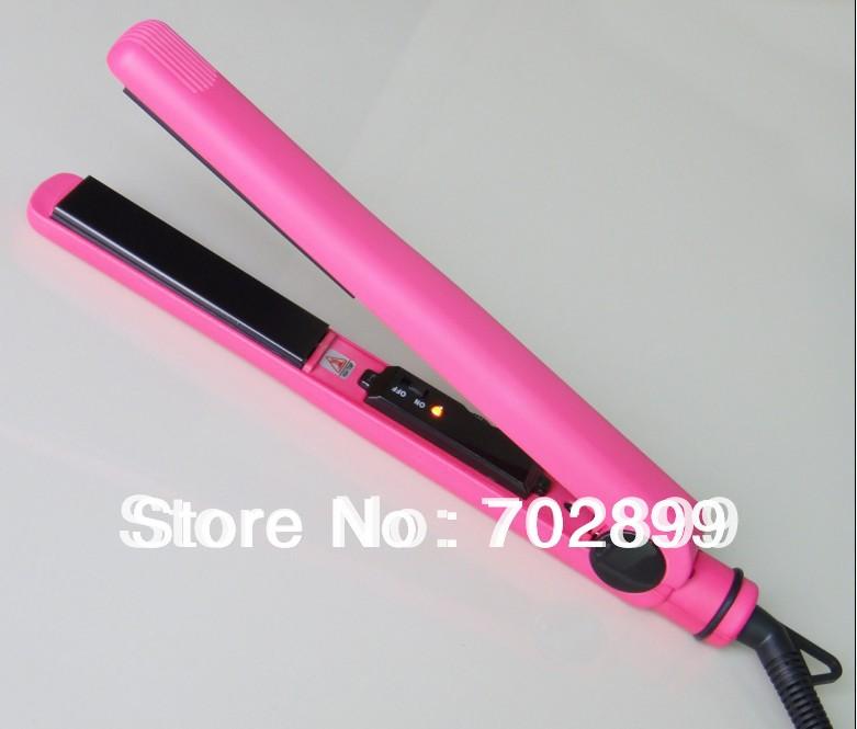 Hair Straighteners/Hair Salon Equipment/titanium flat iron hair straightener/best hairdressing tool(China (Mainland))