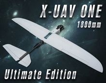 X-UAV ONE 1800mm FPV Plane Ultimate Edition PNP Combo RC New Fiber Material Airplane or EPO Aircraft with gimbal :without camera(China (Mainland))