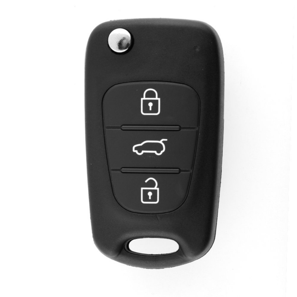 New Flip Remote Keyless Entry Key CASE Shell Blade 3 BUTTONS For KIA SORENTO SPORTAGE CERATO