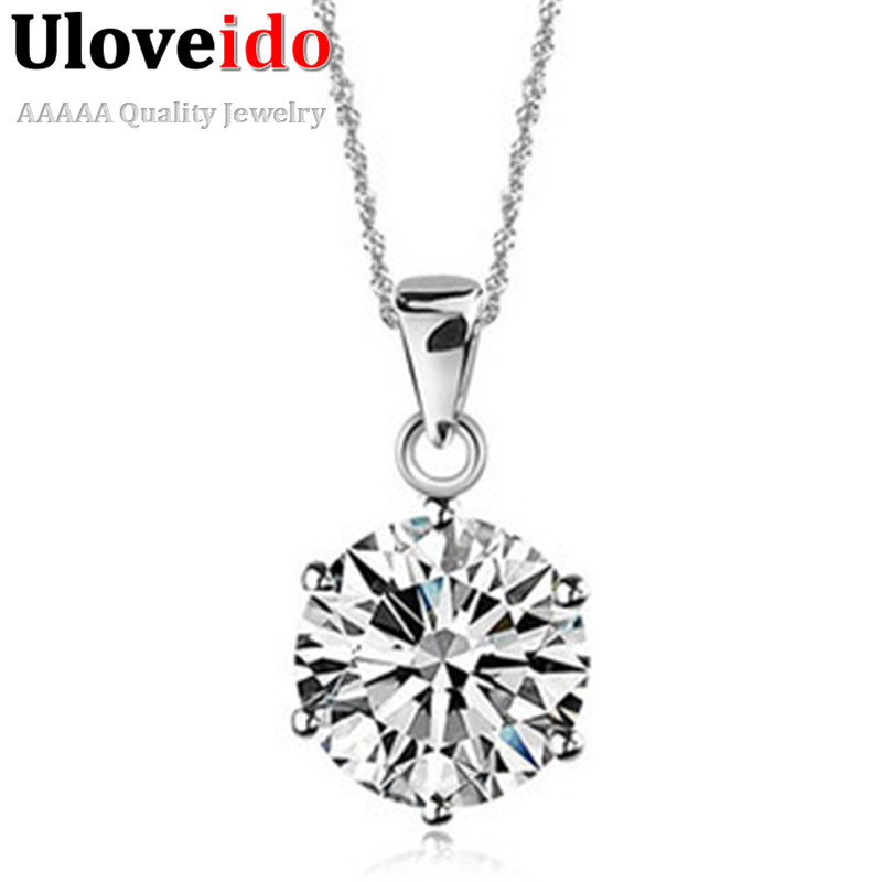 50% off Crystal Perfume Women Necklace Valentine's Day Gift Necklaces New 2016 <font><b>Neckless</b></font> Best Friends Pendant Collares Ulove N321