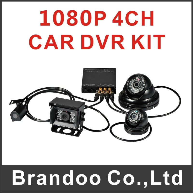 1080P HD school bus dvr,taxi dvr,shuttle bus dvr hot sale from Brandoo(China (Mainland))