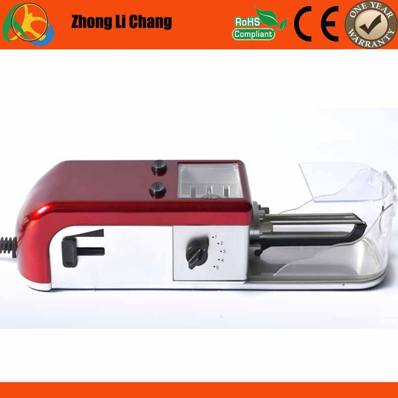 electric cigarette making machine/tobacco rolling machine with motor speed control and tobacco cutting wheels(China (Mainland))