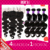 Brazilian Virgin Hair Body Wave 13×4 Lace Frontal Closure With Bundles,4Bundles With Full Lace Frontal Piece WITH BABY HAIR