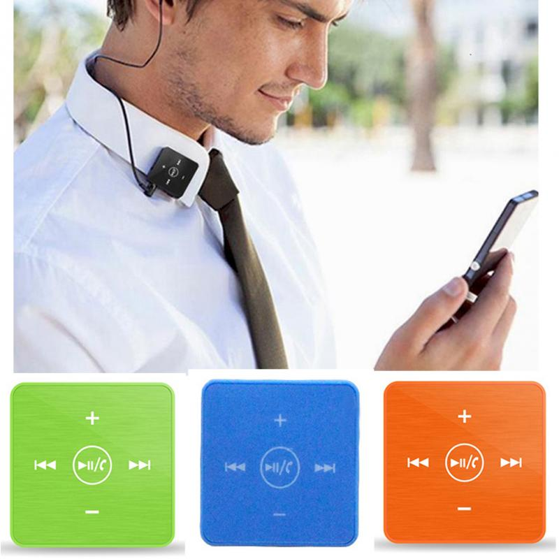 Portable Earphones & Headphones Mini clip on Bluetooth headset wireless earphone with microphone audio receiver adapter *10(China (Mainland))
