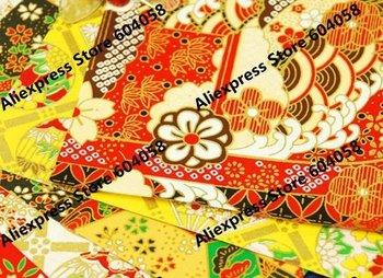40pcs/lot Quarter size Yuzen paper for Japanese market  27x19cm Chiyogami Washi paper for Scrapbooking, origami, crafts
