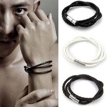 Buy Linnor Simple Design Multilayer Woven Twist Bracelet Friendship Hombre Femme Hand Strap Braslet Men Wristband Braclet for $1.69 in AliExpress store