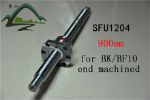 Buy free shipping BallScrew 1204 C7 SFU1204 length 900mm Rolled Ball screw with a ballnut for CNC part BK/BF10 standard end machined for $45.00 in AliExpress store