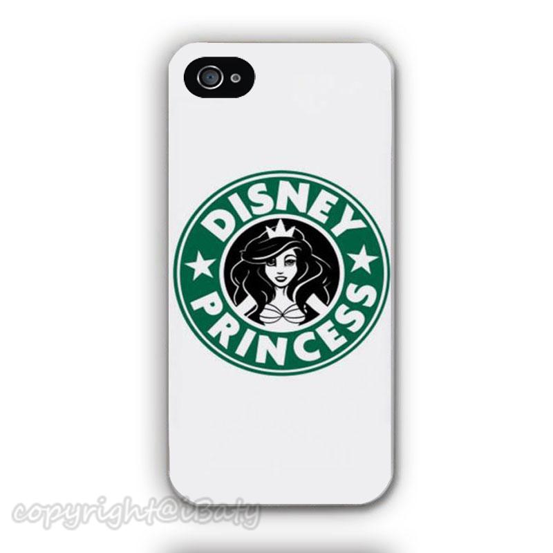 Ariel Starbucks Mermaid Little case Apple iPhone 4 4s 5 5s 5c 6 6s plus plastic mobile cover