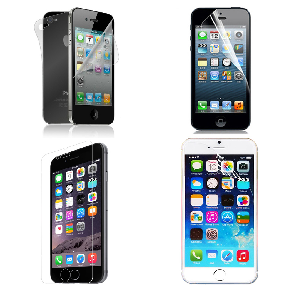 HD Clear Transparent Screen Protector Guard Film For iPhone 4s 5 5S 6 6 plus Free shipping(China (Mainland))