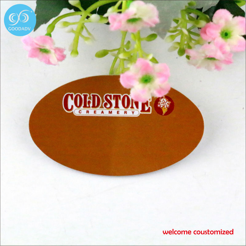 Welcome OEM order!!! Custom your own color/size/logo personalized plastic badge high quality advertising gift metal logo badge(China (Mainland))