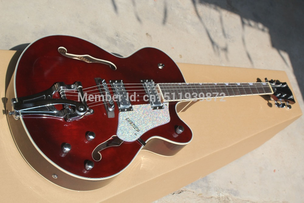 Electric Guitars,1961 Gretsch 6113/9 Tennessean Jazz Bigsby Tremolo, Musical Insruments China Guitar, Free Shipping Guitar(China (Mainland))