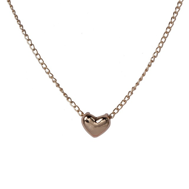 Anti Allergy Hot Sale 6 Style Different Pendants Necklaces & Pendants Gold Plated Fashion Jewelry For Women Family N1183