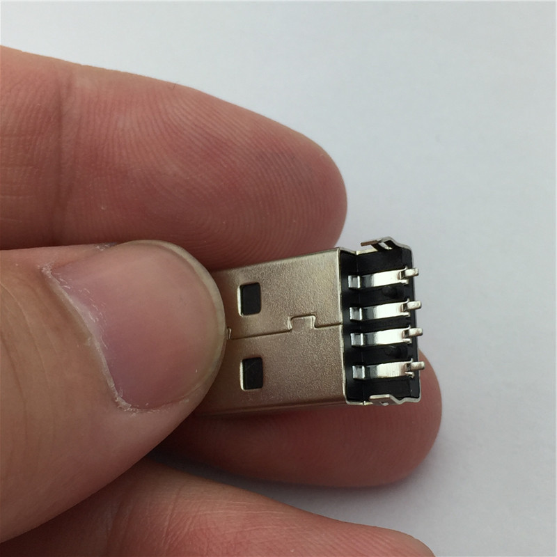 Разъем 10pcs/lot USB 2.0 4Pin G49 SMT
