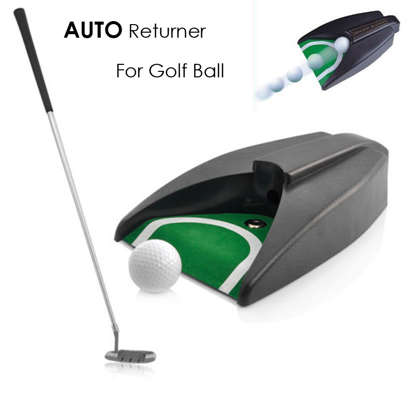 Golf Returner Ball Return for Auto Return System Putt Golfing Training Golf Ball Kick Back Automatic Return Putting Cup Device(China (Mainland))