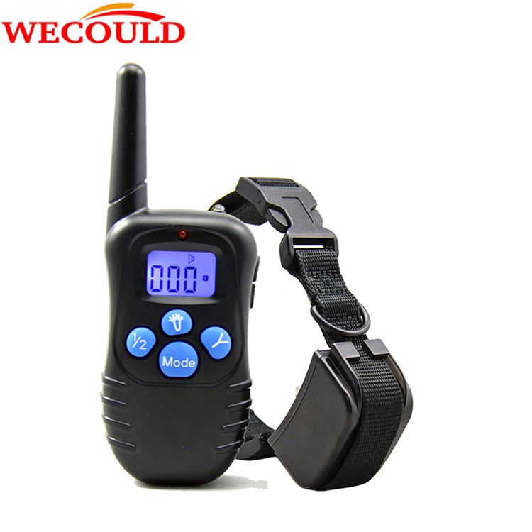 2016 New Remote Vibra Shock Beep Control Electronic Pet Collar Waterproof And Rechargebale Dog Obedience Collar For Dog Training(China (Mainland))