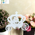 50pcs Pumpkin laser Cut Paper Place Card Escort  Cup Card Wine Glass Card wedding favors and gifts wedding decoration decor show