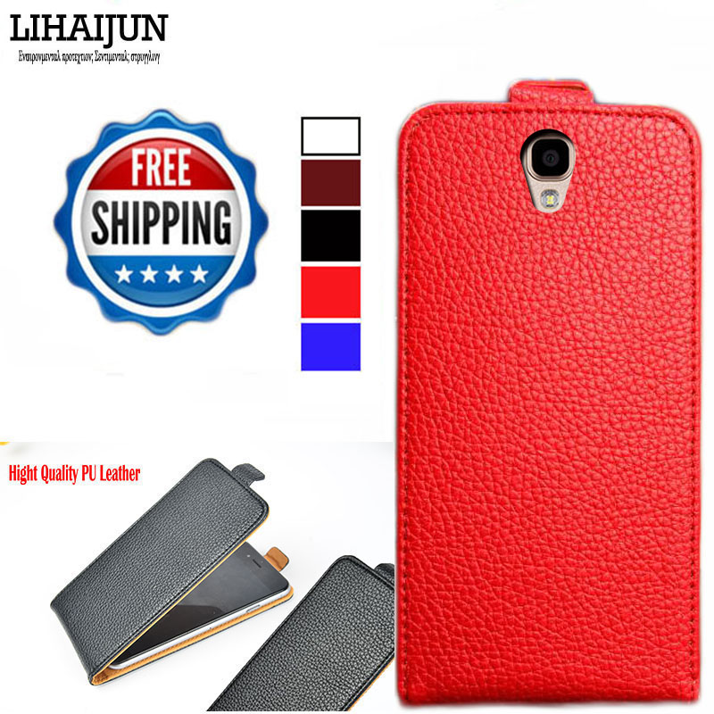Factory Direct, High Quality Pu Leather Flip Case For Nomi i504 Dream Case Cover 5 Colors(China (Mainland))