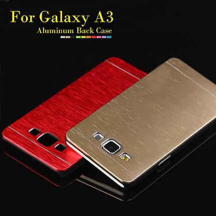 Гаджет  Luxury Metal Brushed Aluminum+Plastic Case For Samsung Galaxy A3 A3000 Phone Case Cover None Телефоны и Телекоммуникации