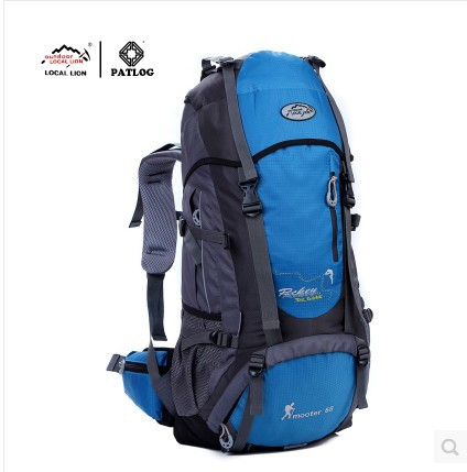 55L professional outdoor camping hiking backpack mountaineering bag travel backpack with rain cover free shipping<br><br>Aliexpress