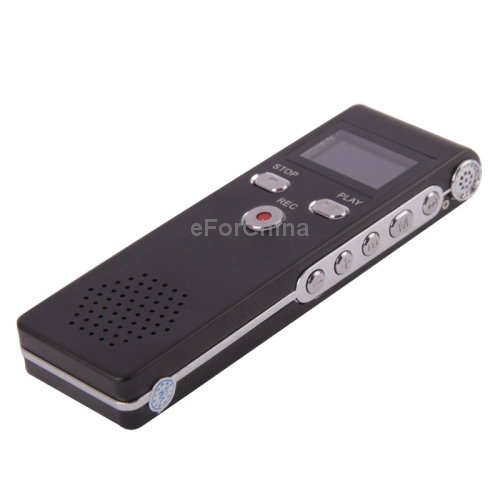 Original Vaso LCD 8GB Digital Voice Recorder New Audio Recorder telephone recorder with VOR Free Shipping(China (Mainland))