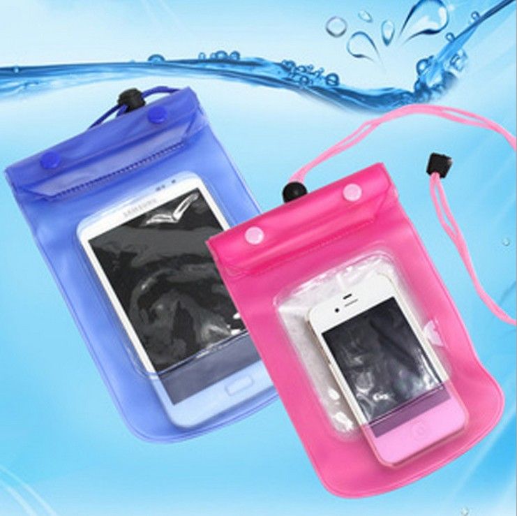 1PC 2015 Waterproof Pouch Bag Case Cover For Most Phone Camera Mobile Phone Waterproof Bags 353(China (Mainland))