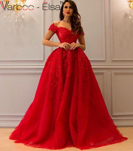 Bling Bling Red Evening Dresses Long Sweetheart Applique Beaded Floor Length Saudi Arabic Evening Gowns Women Formal Dresses(China (Mainland))