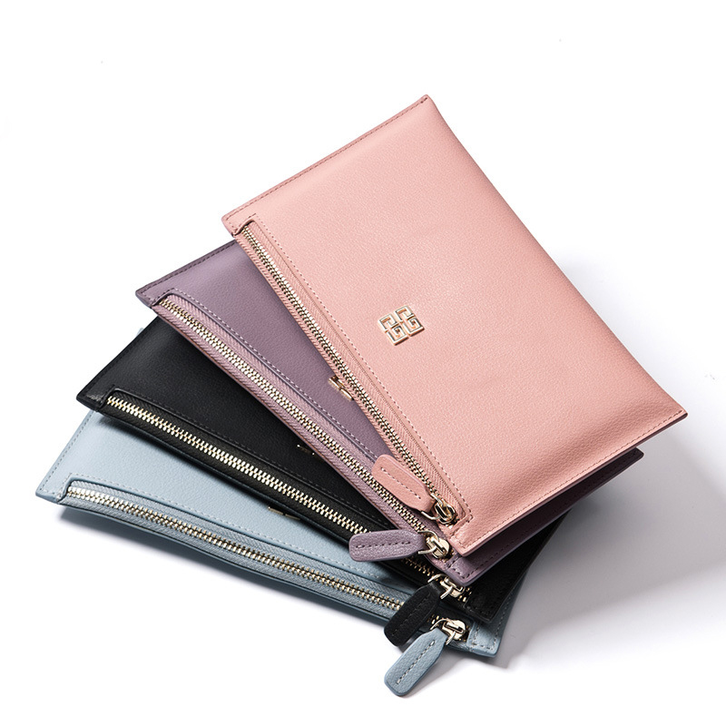 New Long Purse Slim Women'S Hand Bag Leather Wallet(China (Mainland))