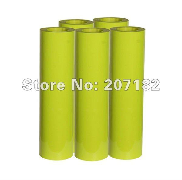 0.5*10m Green Reflective PU Vinyl Transfer Film,Lettering Film, Heat Transfer Film(China (Mainland))