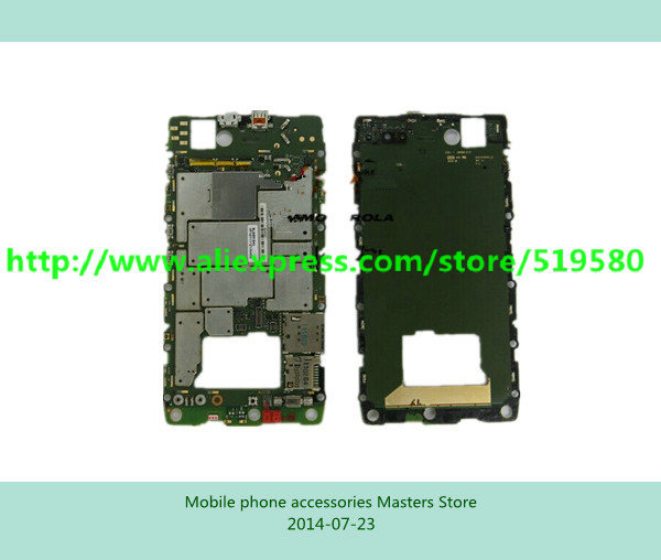 1Pcs 100% Work well board unlock main board motherboard for Motorola XT910 free shipping