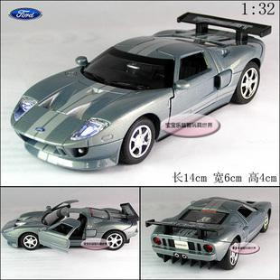 New Ford GT 2006 1:32 Alloy Diecast Model Car With Sound&Light Grey Toy collection B285(China (Mainland))